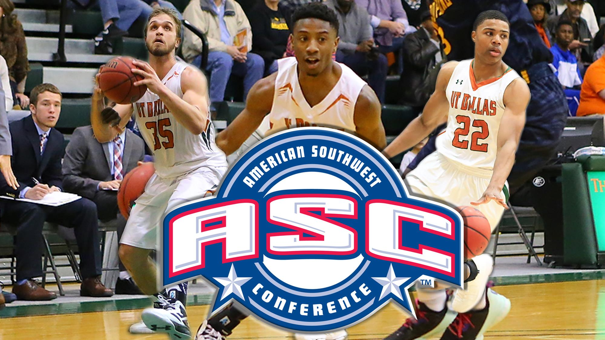 Four Comets Earn All-ASC Honors in Men's Basketball